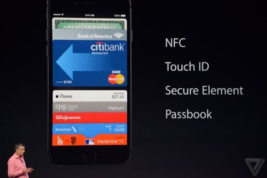 iPhone6 with NFC Chip
